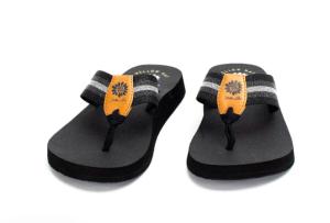 Yellow Box Febe -  Black Multi Flip Flop