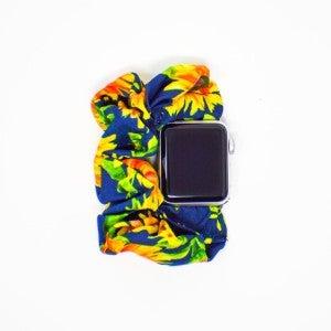 Sunflower Scrunchie Apple Watch Band - 42/44mm