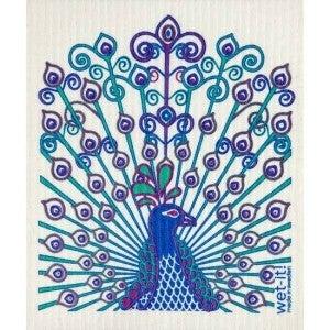 Wet It Cloths | Peacock Swedish Cloth