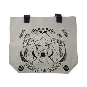 Loungefly Alice Curiouser and Curiouser Tote Bag