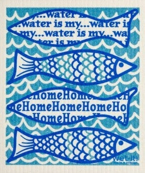 Wet It Cloths | Water is my Home Swedish Cloth