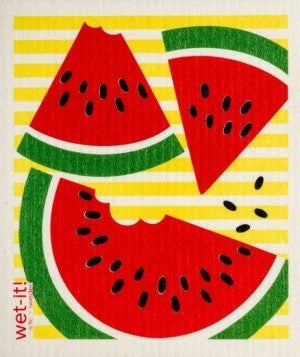 Wet It Cloths | Watermelon Slices Swedish Cloth