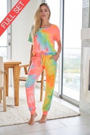 White Birch Pastel Rainbow Tie Dye Set
