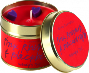 Tinned Candle | Pink Rhubarb & Blackberry