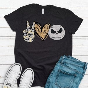 Peace | Love | Jack Graphic Tee