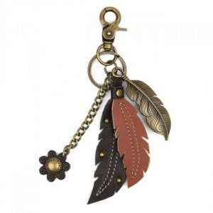 Chala Feather - Charming Key Chain