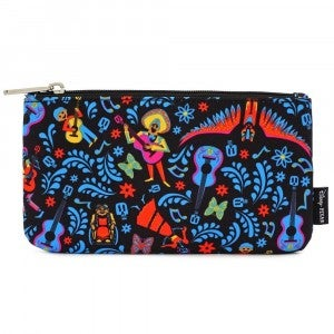 Loungefly Disney Coco AOP Nylon AOP Pouch