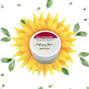 Sugar and Honey Edible Lip Scrub - Wild Strawberry