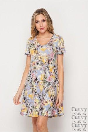 HoneyMe Wild Flower Dress
