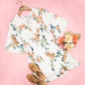 Springtide Floral Dress *all sales final*