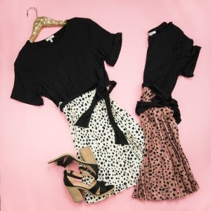 The Classic Spotty Dress