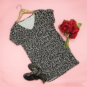 Spotty Dot Boyfriend Dress