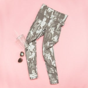 Metallic Camo Leggings