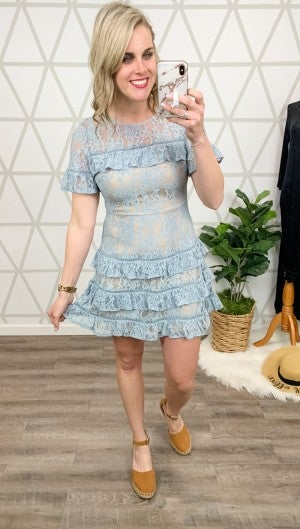 Dreamtime Ruffle Dress(REPOST)
