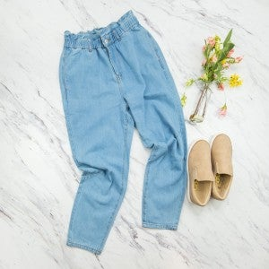 Trendy Denim Pants