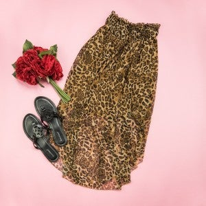 Trendiest Leopard Skirt