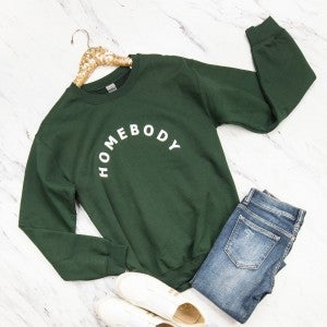 Green Homebody Sweatshirt