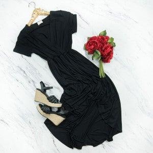 Black Silhouette Dress