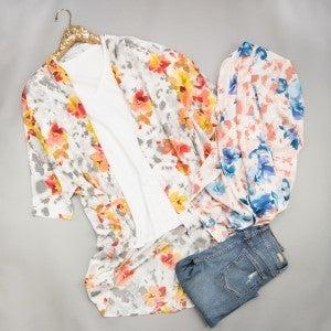 Floral Kimono *ALL SALES FINAL*