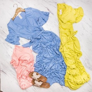 Happy & Bright Maxi Dress *all sales final*