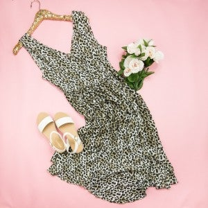 Kori Leopard Sass Dress