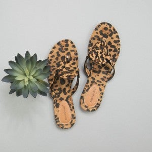 Summer Leopard Sandal