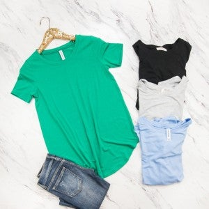 HAPPY HOUR// Scoop Basic Top * all sales final*