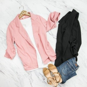 Stay At Home Blazer *all sales final*