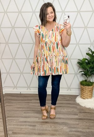 Summer Love Tunic *ALL SALES FINAL*