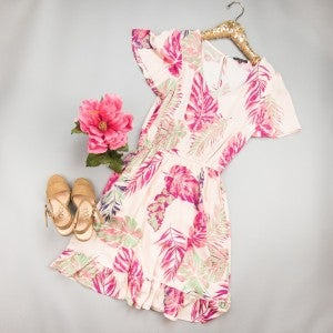 Aloha Baby Staccato Dress *ALL SALES FINAL*