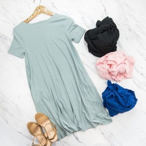 Cozy + Casual Dress * all sales final*