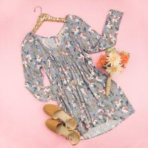 Magnolia Empire Dress *all sales final*