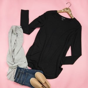 Mono B Basic Longsleeve Top