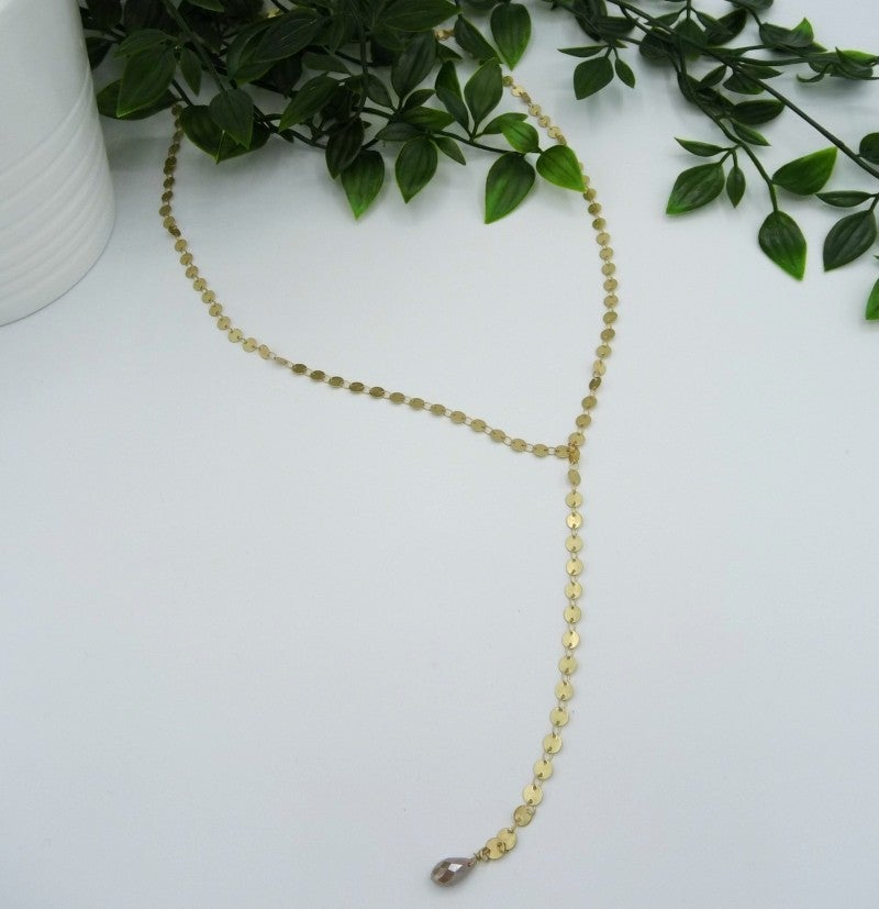 Gold Confetti Necklace