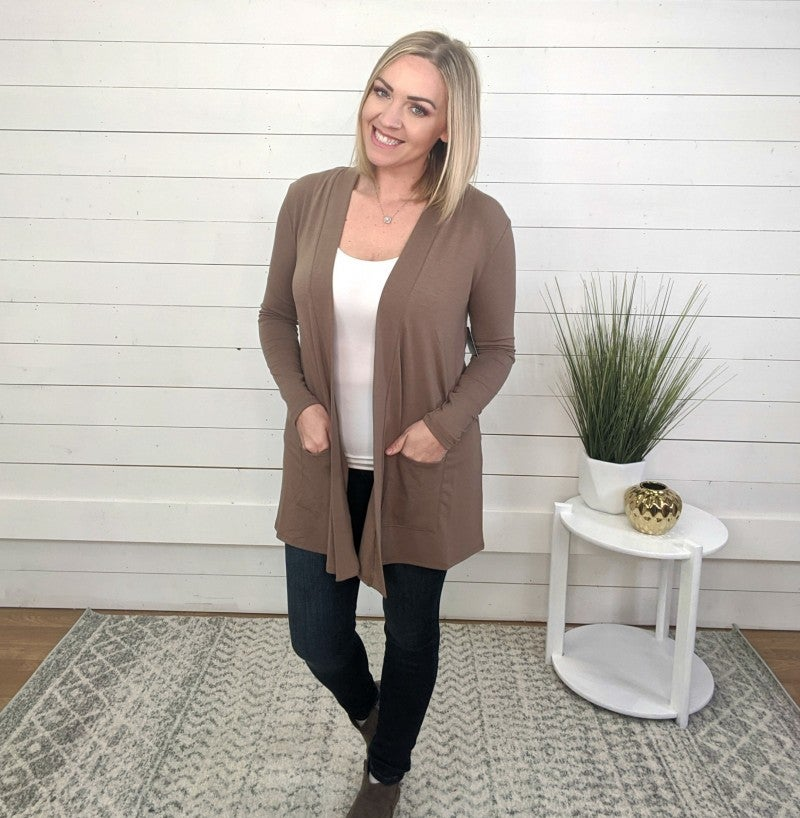 The Perfect Cardi - Mocha