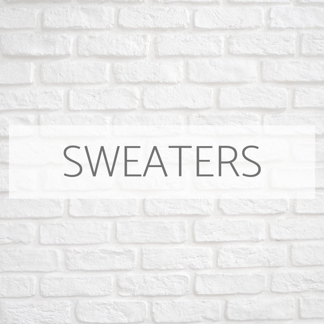 WE LOVE SWEATER WEATHER