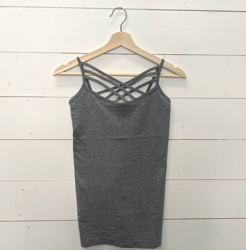 Detail Tank - HEATHER GREY