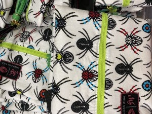 Spider Makeup Junkie Bag
