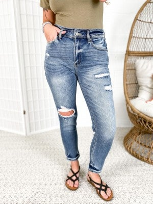 KanCan #MomLife High Rise Relaxed Fit Jeans