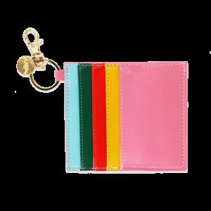 Rainbow Bright Card Holder Keychain