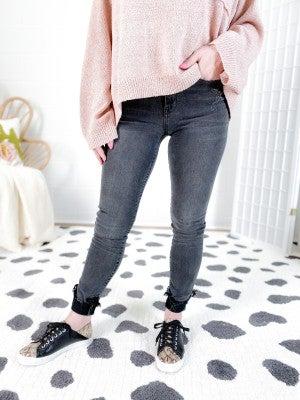 PLUS/REG Judy Blue Grey's Anatomy Cuffed Skinny Jeans