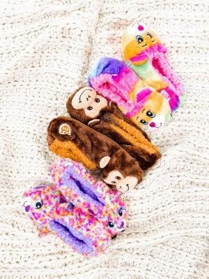 Kid Build a Bear Slippers (Multiple Designs)