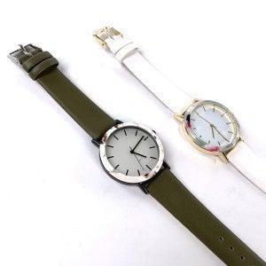 Rosey Pattern Watch