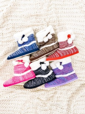 Mystery Indoor slipper booties