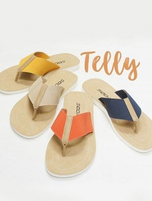 Soda Extra Wide Strap Flip Flops (Multiple Colors)
