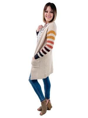 Happy Stripes Cardigan