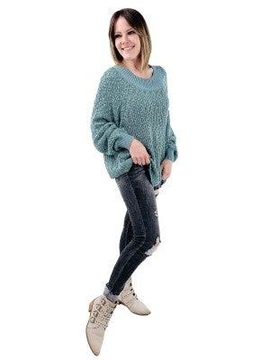 Super Cozy Knit Sweater (Multiple Colors)