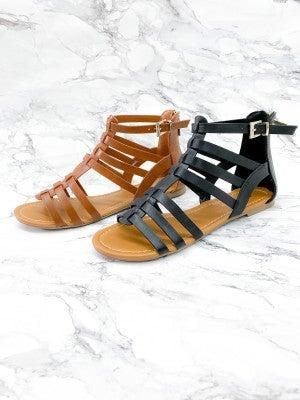 Soda Gladiator Sandals (Multiple Colors)