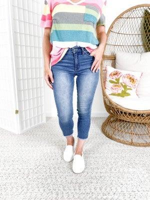 KanCan Summer nights Capri Jeans