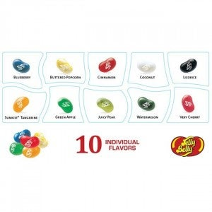 10 Flavor Jelly Belly Beananza Gift Box